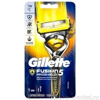 Бритвенный станок Gillette Fusion ProShield +1 кассета